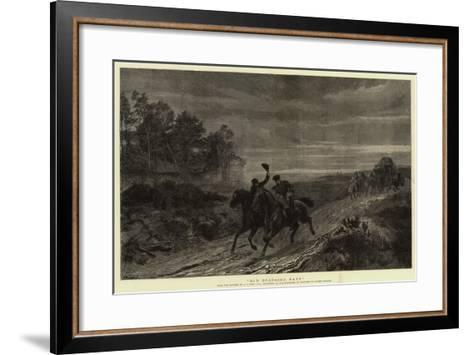 Old Coaching Days-Andrew Carrick Gow-Framed Art Print