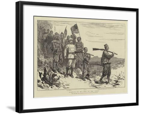 Stanley on His Way to the Coast-Arthur Boyd Houghton-Framed Art Print