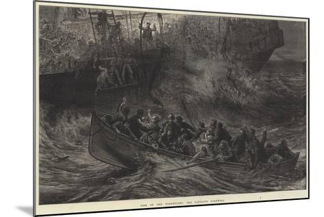 Loss of the Northfleet, the Captain's Farewell-Arthur Hopkins-Mounted Giclee Print