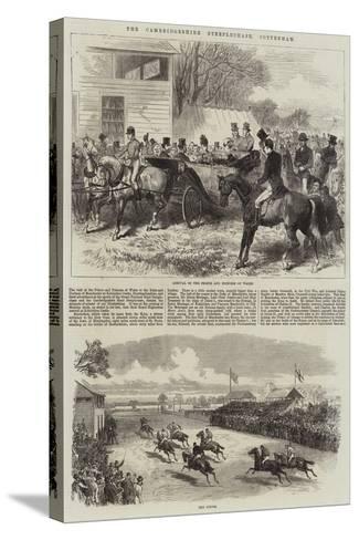 The Cambridgeshire Steeplechase, Cottenham-Arthur Hopkins-Stretched Canvas Print