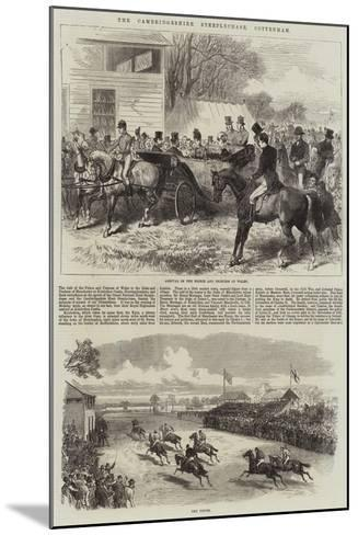 The Cambridgeshire Steeplechase, Cottenham-Arthur Hopkins-Mounted Giclee Print
