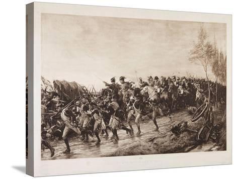 After Waterloo: Every Man for Himself, 1890-Andrew Carrick Gow-Stretched Canvas Print