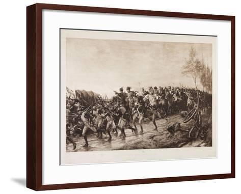 After Waterloo: Every Man for Himself, 1890-Andrew Carrick Gow-Framed Art Print
