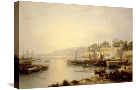 View of Burntisland-Andrew Wilson-Stretched Canvas Print