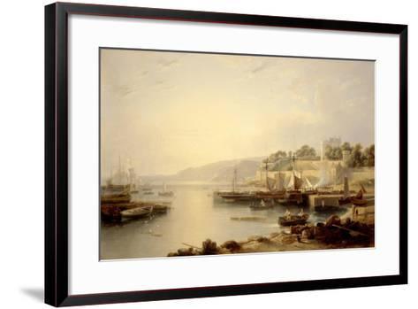 View of Burntisland-Andrew Wilson-Framed Art Print