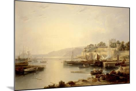 View of Burntisland-Andrew Wilson-Mounted Giclee Print