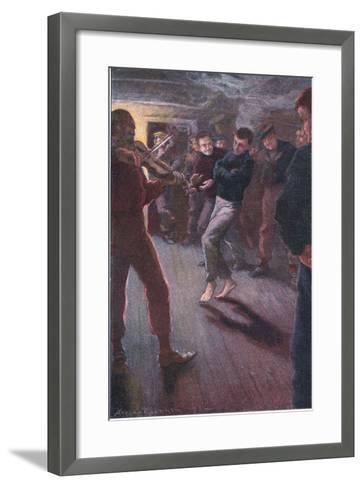 The Boy Could Dance the Fisherman's Jig-Arthur Rackham-Framed Art Print
