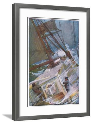 We Worked for About Half an Hour-Arthur Rackham-Framed Art Print