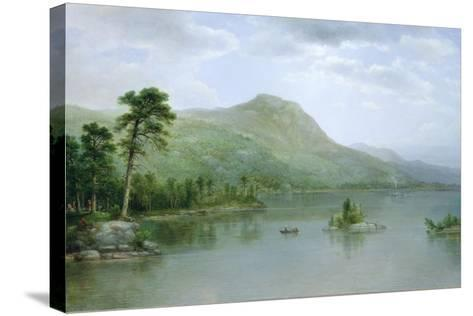 Black Mountain from the Harbor Islands, Lake George, New York, 1875-Asher Brown Durand-Stretched Canvas Print