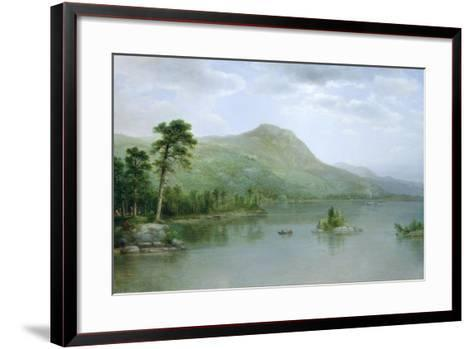 Black Mountain from the Harbor Islands, Lake George, New York, 1875-Asher Brown Durand-Framed Art Print