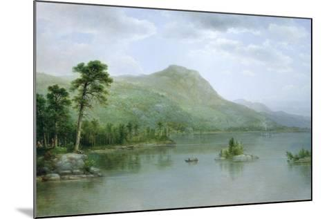 Black Mountain from the Harbor Islands, Lake George, New York, 1875-Asher Brown Durand-Mounted Giclee Print