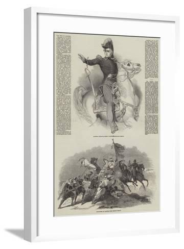 The War in Algeria-Antoine Charles Horace Vernet-Framed Art Print