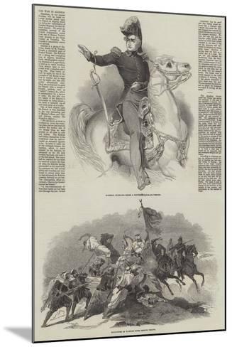 The War in Algeria-Antoine Charles Horace Vernet-Mounted Giclee Print