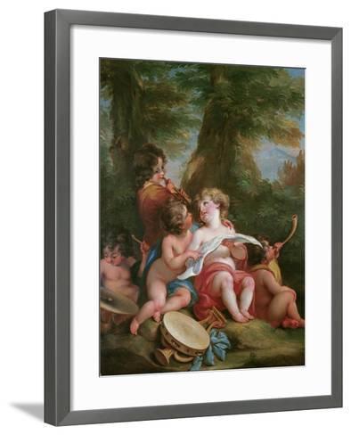 Music-Angelica Kauffmann-Framed Art Print
