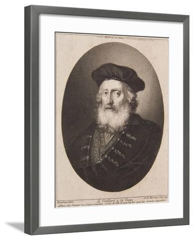 Le Vieillard a La Coque, 1771-Antoine de Marcenay de Ghuy-Framed Art Print