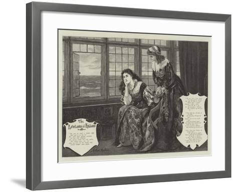 The Lowlands of Holland-Arthur Hopkins-Framed Art Print