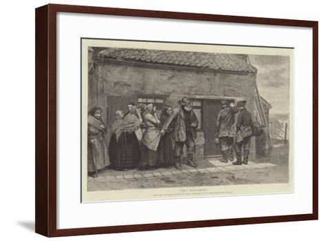 The Messenger-Arthur Hardwick Marsh-Framed Art Print