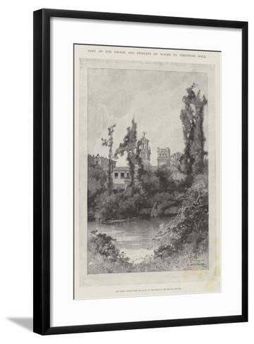 Visit of the Prince and Princess of Wales to Trentham Hall-Charles Auguste Loye-Framed Art Print