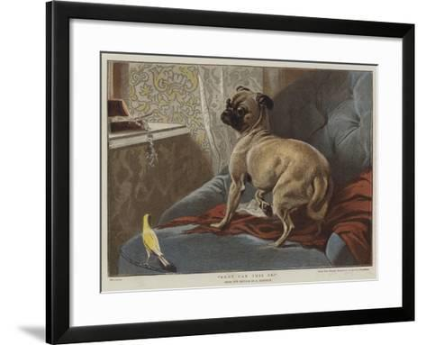 What Can This Be?-Carl Constantin Steffeck-Framed Art Print