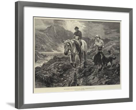 Motherless, Easedale Tarn, Westmorland-Basil Bradley-Framed Art Print