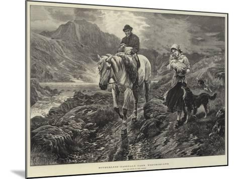 Motherless, Easedale Tarn, Westmorland-Basil Bradley-Mounted Giclee Print