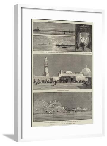 Sketches of Upper Egypt-Charles Auguste Loye-Framed Art Print