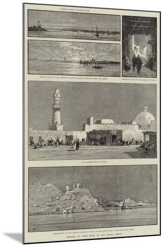 Sketches of Upper Egypt-Charles Auguste Loye-Mounted Giclee Print