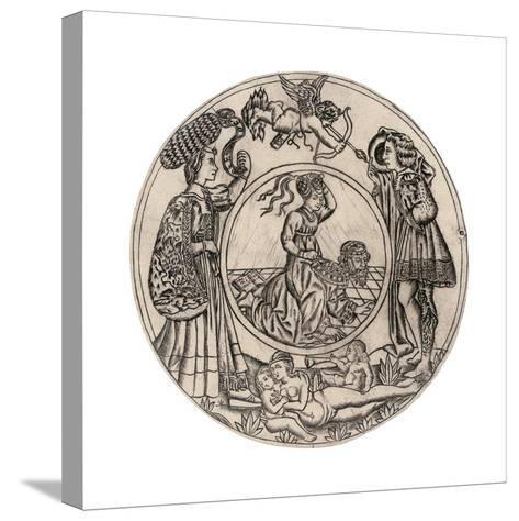Aristotle and Phyllis-Baccio Baldini-Stretched Canvas Print