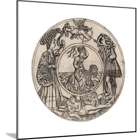 Aristotle and Phyllis-Baccio Baldini-Mounted Giclee Print