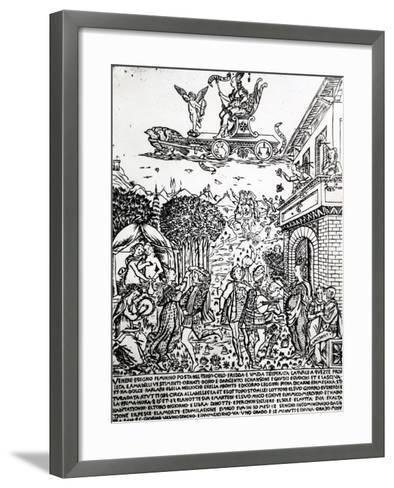 Venus, C.1464-Baccio Baldini-Framed Art Print