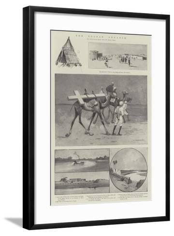 The Soudan Advance-Charles Auguste Loye-Framed Art Print
