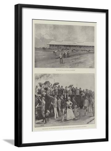The Transvaal War-Charles Auguste Loye-Framed Art Print