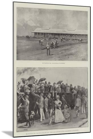 The Transvaal War-Charles Auguste Loye-Mounted Giclee Print
