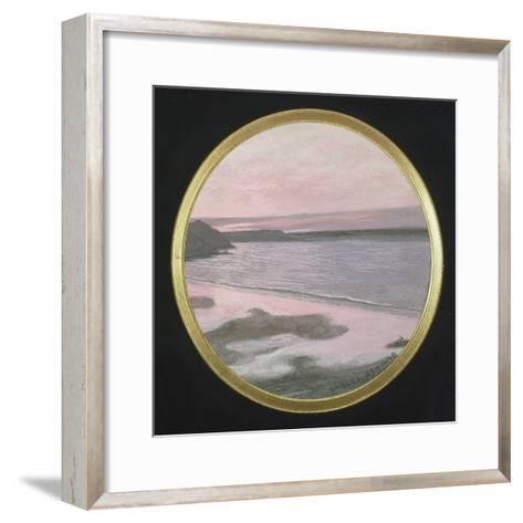 The Silent Sea, 1916-Carlos Schwabe-Framed Art Print