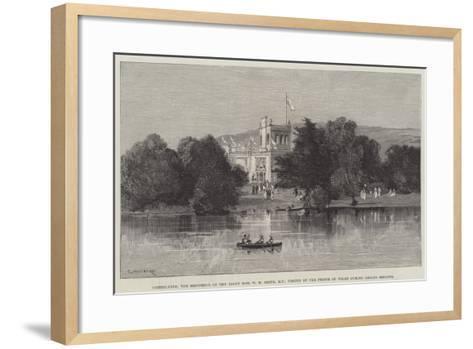 Greenlands-Charles Auguste Loye-Framed Art Print