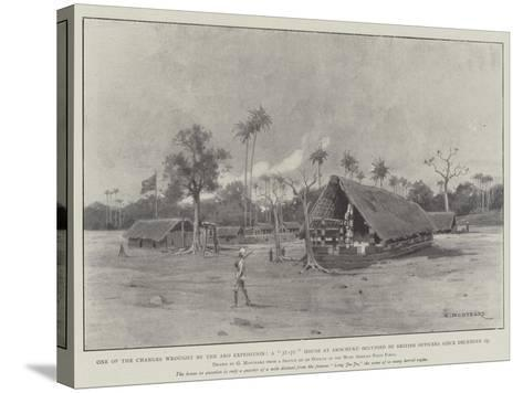 One of the Changes Wrought by the Aro Expedition-Charles Auguste Loye-Stretched Canvas Print