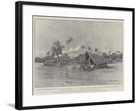 One of the Changes Wrought by the Aro Expedition-Charles Auguste Loye-Framed Art Print