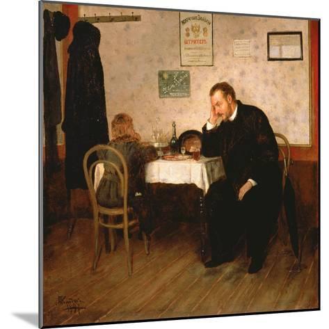 Orphaned, 1897-Baron Mikhail Petrovich Klodt von Jurgensburg-Mounted Giclee Print