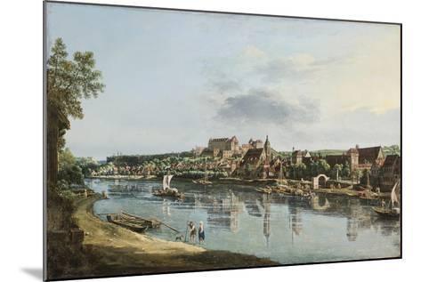 Pirna on the Elba, C.1756-Bernardo Bellotto-Mounted Giclee Print