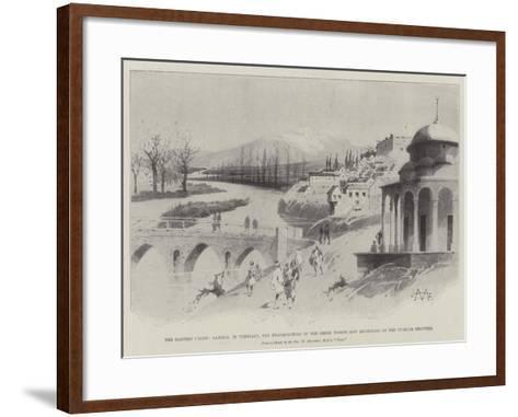 The Eastern Crisis-Charles Auguste Loye-Framed Art Print