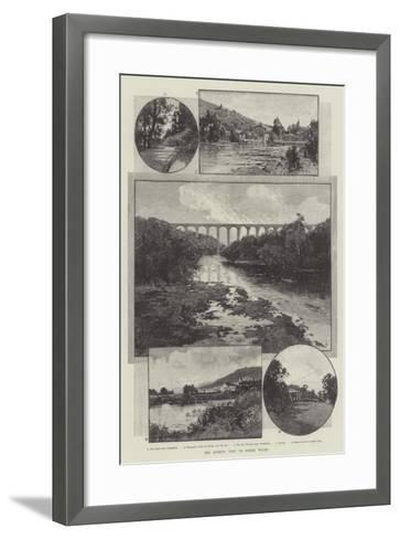 The Queen's Visit to North Wales-Charles Auguste Loye-Framed Art Print
