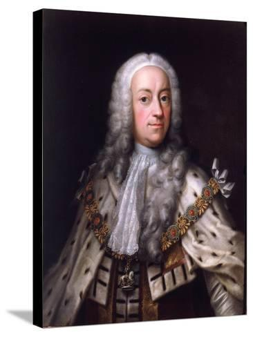 Portrait of King George-Barthelemy du Pan-Stretched Canvas Print