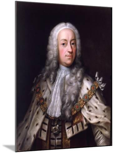 Portrait of King George-Barthelemy du Pan-Mounted Giclee Print