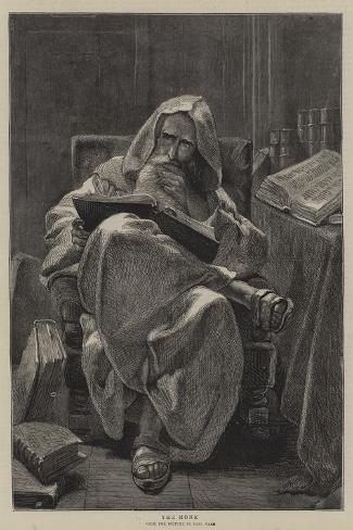 The Monk-Carl Haag-Stretched Canvas Print