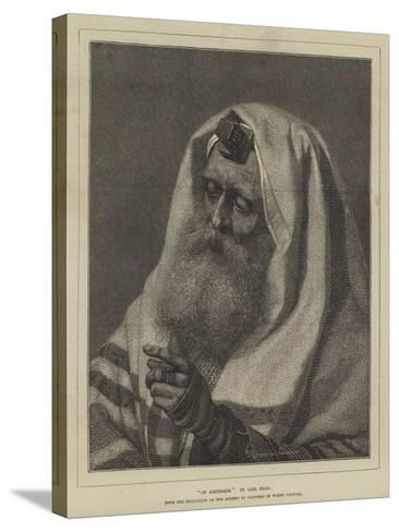 An Askenazim-Carl Haag-Stretched Canvas Print