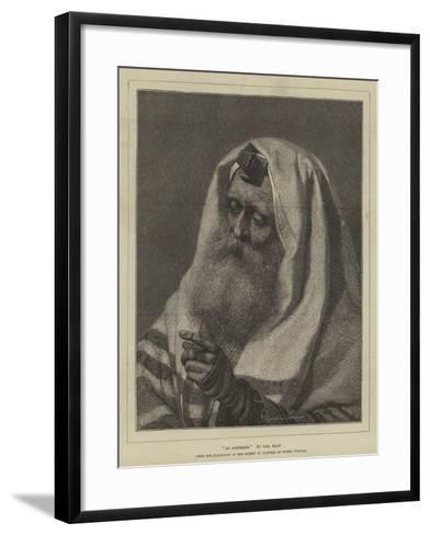 An Askenazim-Carl Haag-Framed Art Print