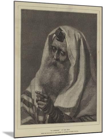 An Askenazim-Carl Haag-Mounted Giclee Print