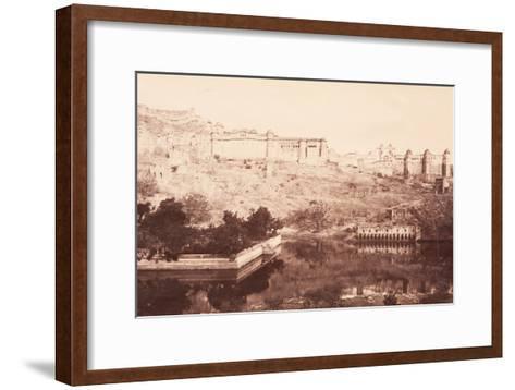 View of Amber Fort, 1871- Bourne & Shepherd-Framed Art Print