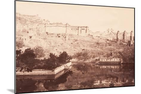 View of Amber Fort, 1871- Bourne & Shepherd-Mounted Photographic Print