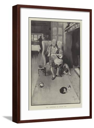 The Christmas He Hoped For-Cecil Aldin-Framed Art Print